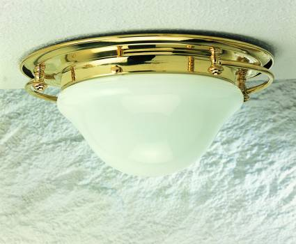 Plafoniere Ottone Stile Nautico : Illuminazione stile marina lampade lampadari ilvascello